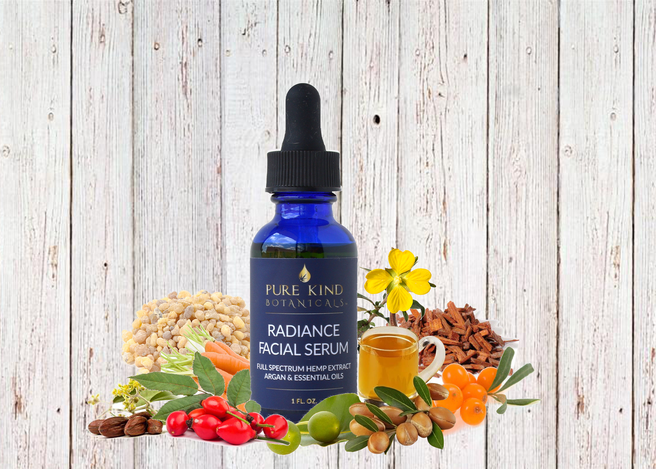 Hemp Extract Radiance Facial Serum